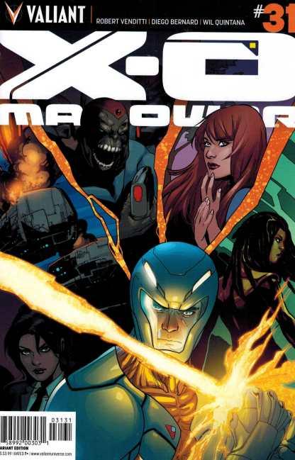 X-O Manowar #31 1:20 Lupacchino Variant Valiant