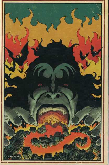 Kiss #6 1:15 Charles Paul Wilson Virgin Variant Dynamite 2016
