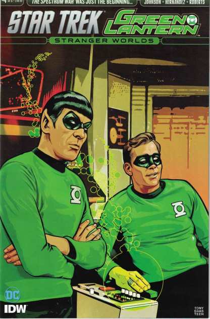 Star Trek Green Lantern Vol 2 #4 1:10 Isaac Goodhart Variant IDW