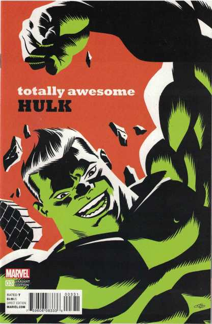 Totally Awesome Hulk #3 1:20 Frank Cho Variant Marvel