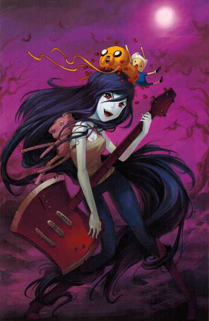 Adventure Time Marceline and the Scream Queens #6 1:15 D'Errico Variant Boom