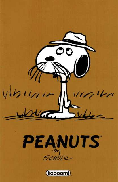 Peanuts #11 1:20 Spike First Appearance Variant Charles Schultz Boom! Comic
