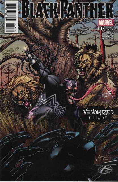 Black Panther #18 Joyce Chin Venomized Variant Marvel 2016 Klaw