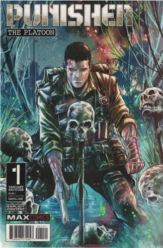 Punisher Platoon #1 1:25 Marco Checchetto Variant Marvel 2017