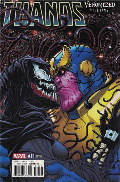 Thanos #11 Unlocked Will Robson Venomized Death Variant Marvel 2016