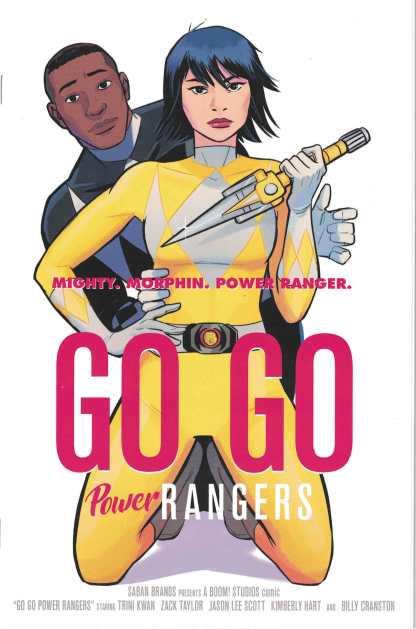 Go Go Power Rangers #2 1:25 Natacha Bustos Homage Variant Boom 2017