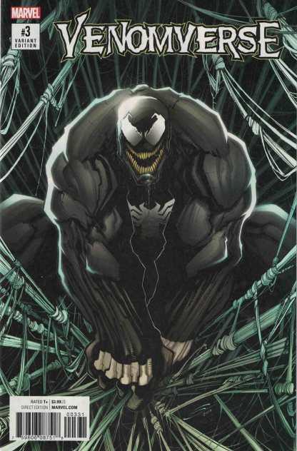 Venomverse #3 1:50 Gerardo Sandoval Variant Marvel 2017