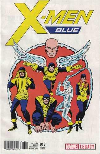X-Men Blue #13 1:50 Jack Kirby 1965 T-Shirt Variant Marvel Legacy 2017