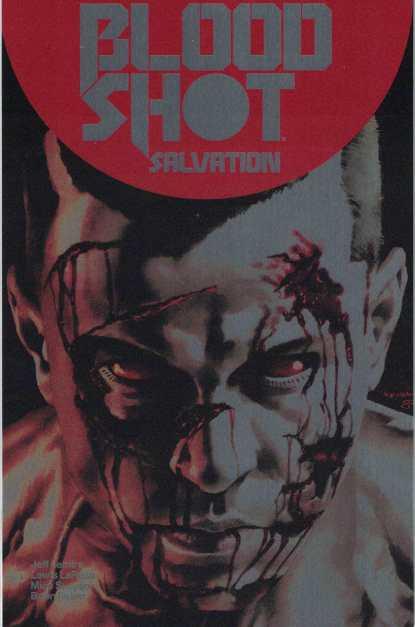 Bloodshot Salvation #1 1:250 Mico Suayan Brushed Metal Valiant Variant 2017