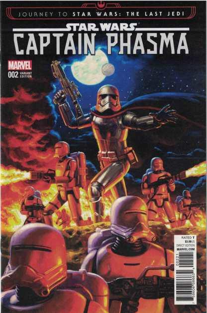 Journey Star Wars Last Jedi Captain Phasma #2 1:50 Hildebrandt Variant Marvel