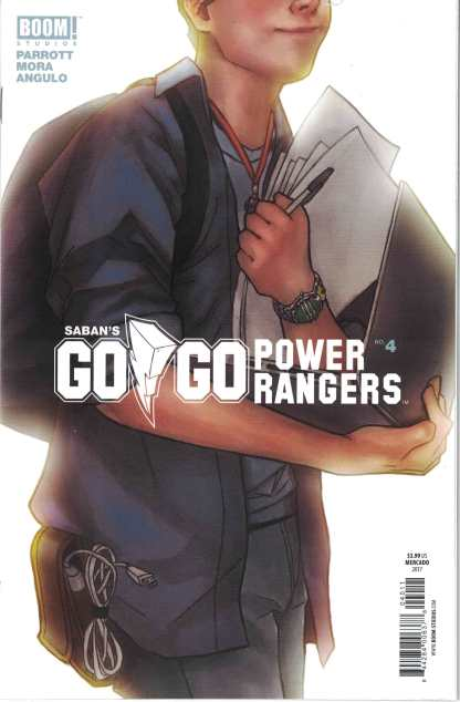 Go Go Power Rangers #4 1:10 Miguel Mercado Variant Boom 2017