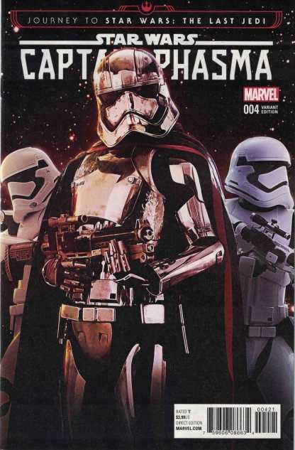 Journey Star Wars Last Jedi Captain Phasma #4 1:15 Checchetto Movie Variant Marvel