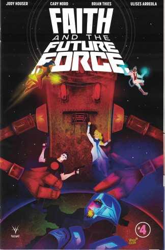 Faith and the Future Force #4 1:10 Jeffrey Veregge Valiant Variant 2017