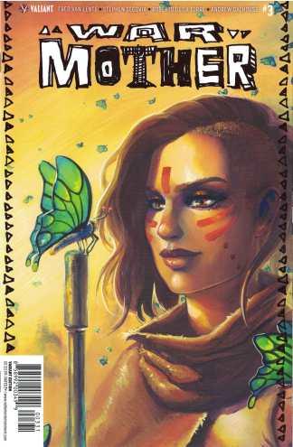 War Mother #3 1:10 Meghan Hetrick Valiant Variant Cover C 2017