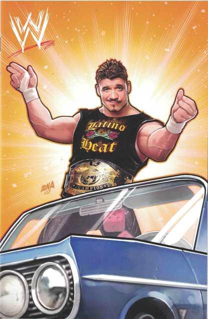 WWE #10 1:15 David Nakayama Eddie Guerrero Variant Boom