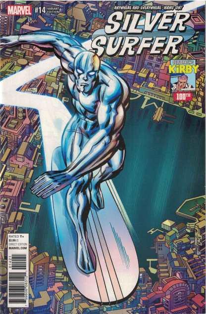 Silver Surfer #14 1:10 Jack Kirby 100 Variant Marvel