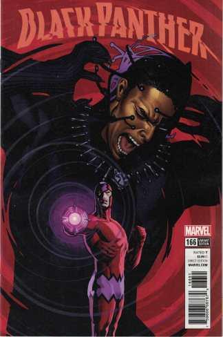 Black Panther #166 1:25 Ryan Sook Variant Marvel Legacy