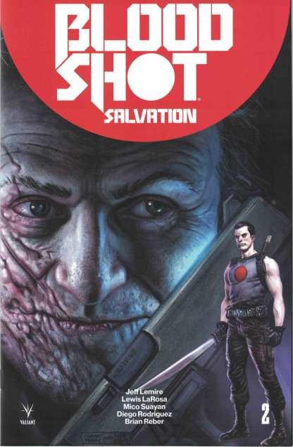 Bloodshot Salvation #2 1:50 Glenn Fabry Valiant Variant 2017