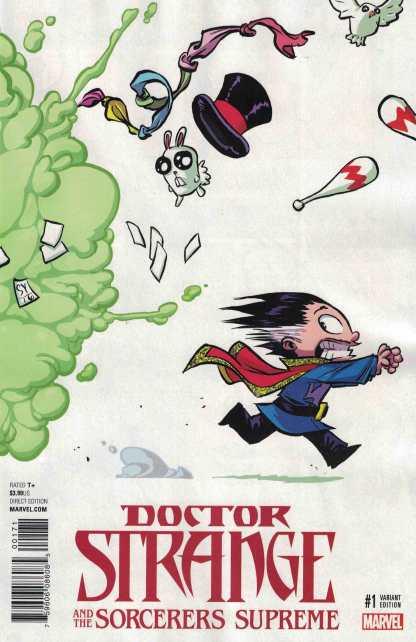 Doctor Strange & Sorcerers Supreme #1 Skottie Young Marvel Babies Variant NOW