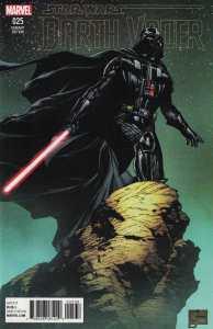 Darth Vader #25 1:100 Joe Quesada Color Variant Marvel Star Wars 2015