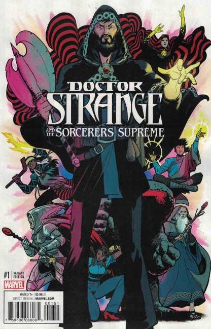 Doctor Strange & Sorcerers Supreme #1 1:25 Rodriguez Variant NOW Marvel 2016