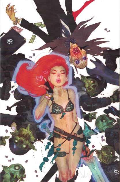 Red Sonja #10 1:20 Ben Caldwell Virgin Variant Dynamite 2017