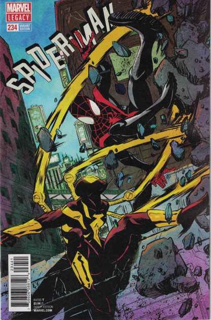 Spider-Man #234 1:25 Sanford Greene Variant Marvel Legacy Iron-Spider