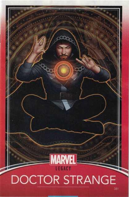 Doctor Strange #381 Unlocked John Tyler Christopher Trading Card Variant Marvel