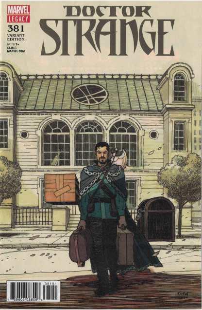 Doctor Strange #381 1:25 Gabriel Hernandez Walta Variant Marvel Legacy