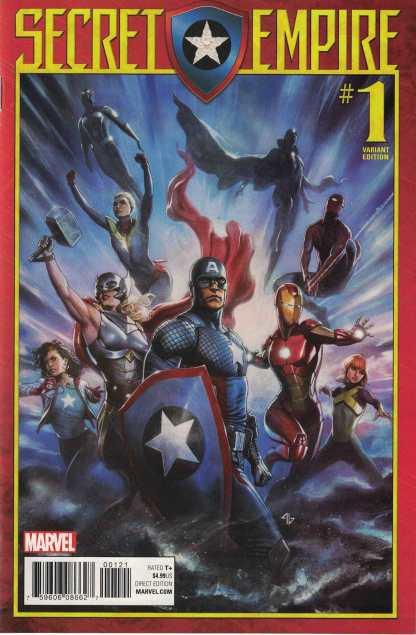 Secret Empire #1 1:25 Adi Granov Variant Marvel 2017