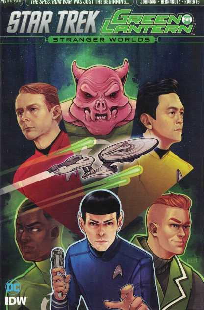 Star Trek Green Lantern Vol. 2 #6 1:10 Elizabeth Beals Variant IDW 2016