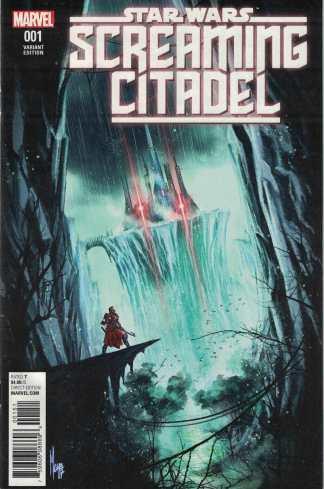 Star Wars Screaming Citadel #1 1:10 Marco Checchetto World Variant Marvel 2017