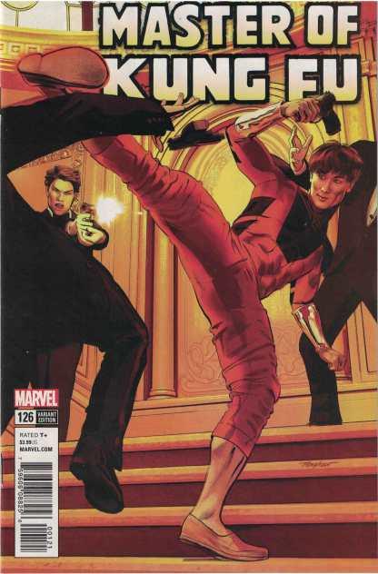 Master of Kung Fu #126 1:25 Mike Mayhew Variant Marvel Legacy