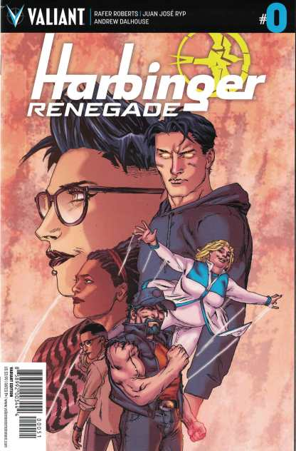 Harbinger Renegade #0 1:20 Ben Tiesma Valiant Variant 2017