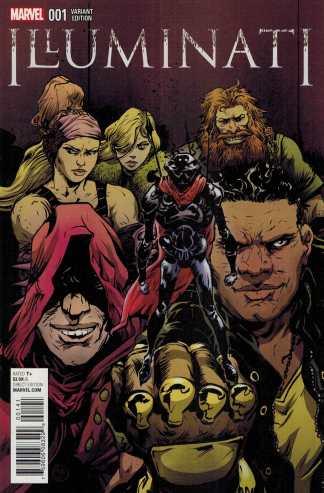 Illuminati #1 1:25 Paul Pope Variant Marvel 2015 ANAD