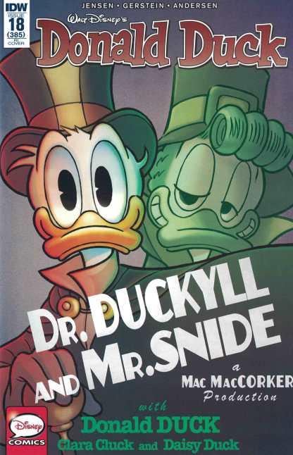 Donald Duck #18 1:10 Retailer Incentive Variant RI IDW 2015