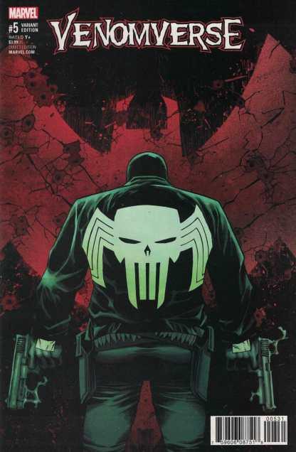 Venomverse #5 1:50 Declan Shalvey Variant Marvel 2017