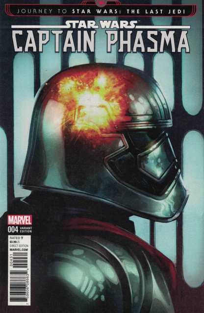 Journey Star Wars Last Jedi Captain Phasma #4 1:50 Reis Variant Marvel 2017