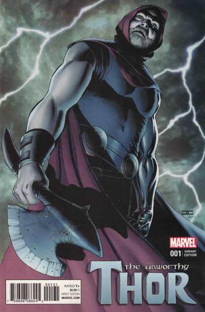 Unworthy Thor #1 1:25 John Cassaday Variant NOW Marvel 2016