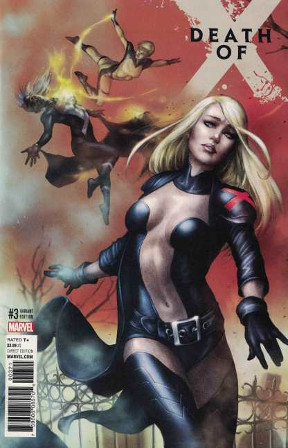 Death of X #3 Mike Choi Connecting Variant Cover C X-Men Inhumans Marvel 2016