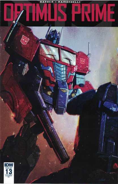 Optimus Prime #13 1:10 Livio Ramondelli Variant IDW 2016