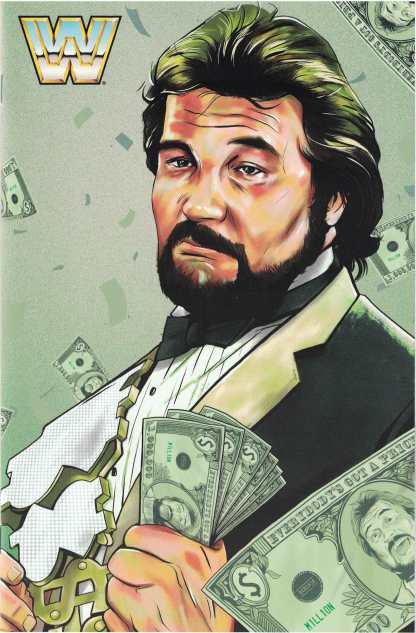 WWE #11 1:30 Aaron Dana The Million Dollar Man Ted Dibiase Variant Boom 2016