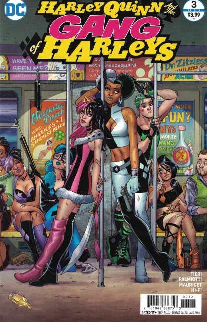 Harley Quinn and Her Gang of Harleys #3 1:25 Conner Variant DC 2016