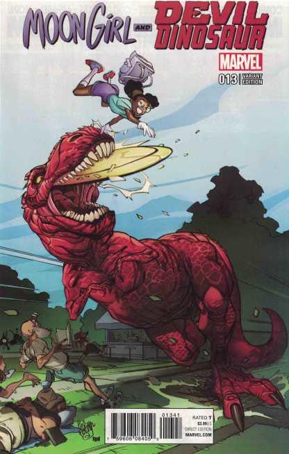 Moon Girl and Devil Dinosaur #13 1:25 Pasqual Ferry Variant ANAD Marvel 2015