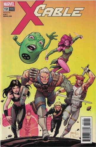 Cable #151 1:25 Tom Grummett Variant Marvel Legacy 2017