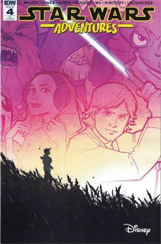 Star Wars Adventures #4 1:10 Annie Wu Variant IDW 2017