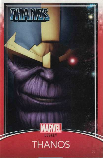 Thanos #13 Christopher Trading Card Variant 1st Cosmic Ghost Rider