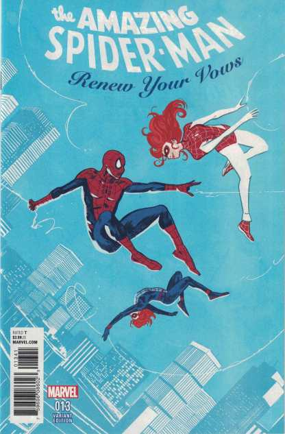 Amazing Spider-Man Renew Your Vows #13 1:25 Michael Walsh Variant Marvel Legacy