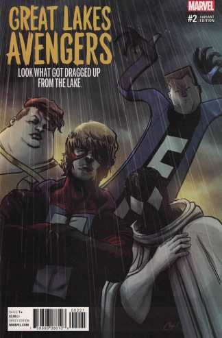 Great Lakes Avengers #2 1:25 Chip Zdarsky Variant NOW Marvel 2016