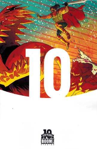 Klaus #1 1:10 Stelfreeze 10th Anniversary Variant Boom! 2015 Grant Morrison